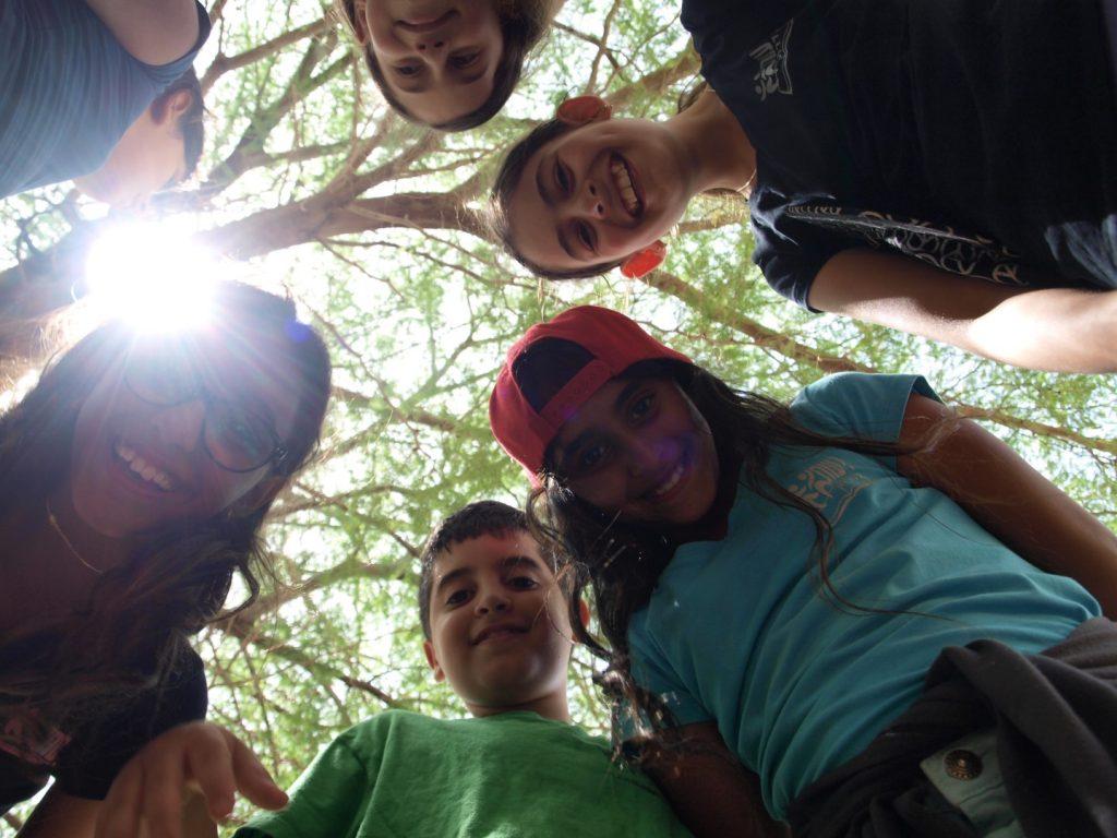 ילדים ביער מאכל